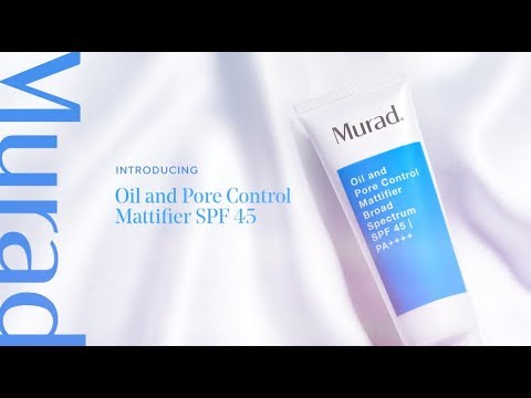 video om brugen af Oil and Pore Control Mattifier SPF 45