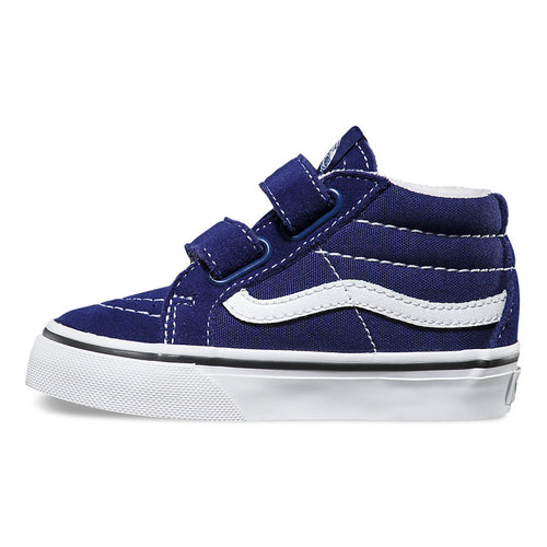 VANS SK8 MID REISSUE V PATRIOT BLUE/TRUE WHITE (TODDLERS) Billie & Axel, Montreal, Canada