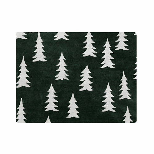 FINE LITTLE DAY GRAN TABLE MAT BLACK WHITE
