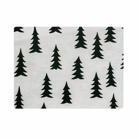 FINE LITTLE DAY GRAN TABLE MAT WHITE BLACK