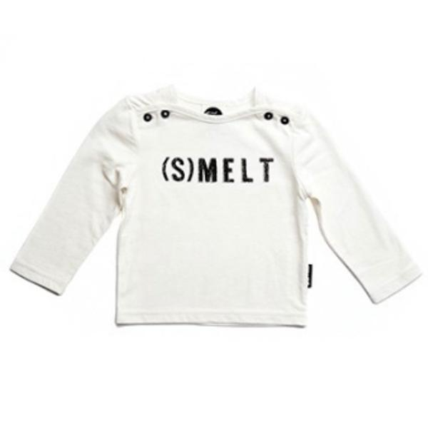 "SPROET & SPROUT T SHIRT ""(S)MELT"" IVORY WHITE"