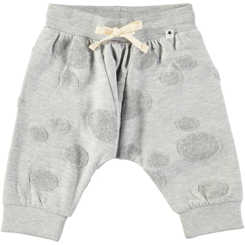Molo Sona Soft pants Light Grey Melange