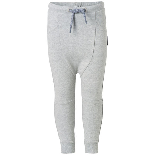 NOPPIES Pants Sweat Nantes Dark Grey Melange