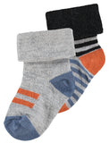 Noppies Socks (2 pairs) Trinity Billie & Axel Canada USA