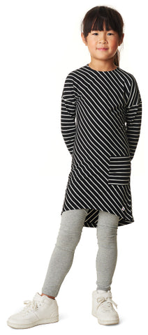 Noppies Dress Prague Stripes Black White Organic cotton Billie & Axel Online Store USA & Canada