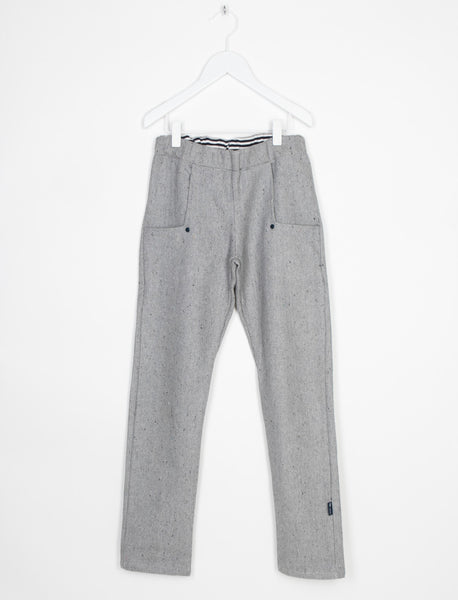 L'ASTICOT ORGANIC TWILL PANTS GREY