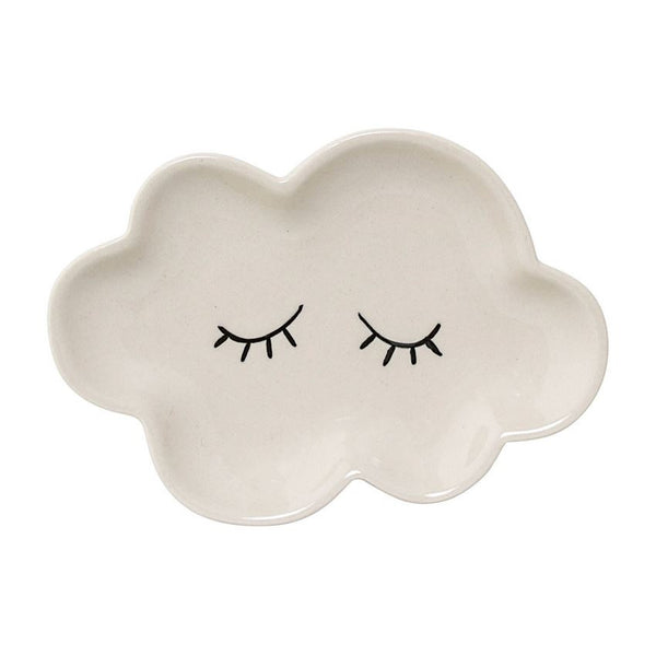 BLOOMINGVILLE CERAMIC SMILLA PLATE CLOUD WHITE Billie & Axel, Montreal, Canada
