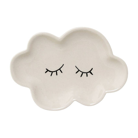 BLOOMINGVILLE CERAMIC SMILLA PLATE CLOUD WHITE