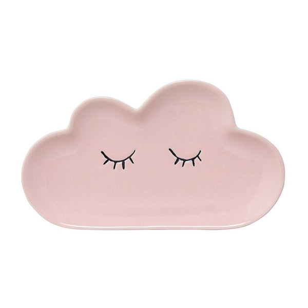 BLOOMINGVILLE CERAMIC SMILLA CLOUD PLATE PINK Billie & Axel, Montreal, Canada