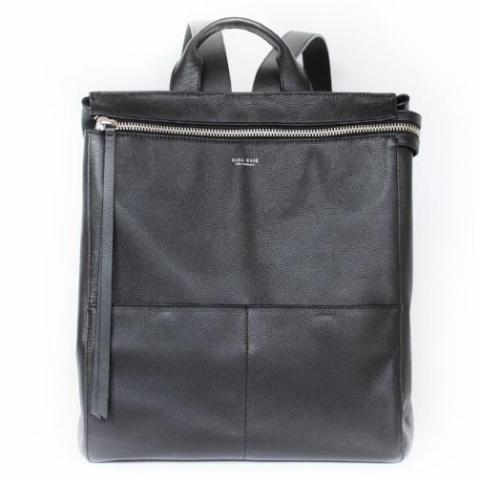 Harper Backpack Diaper Bag Black by Mina Baie