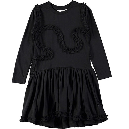 MOLO Coco Dress LS Black-Dress-MOLO-Billie & Axel, Montreal, Canada & USA