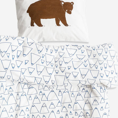 FINE LITTLE DAY BRUNO/MOUNTAINS CRIB BABY BED SET-BEDDING-FINE LITTLE DAY-Billie & Axel, Montreal, Canada & USA