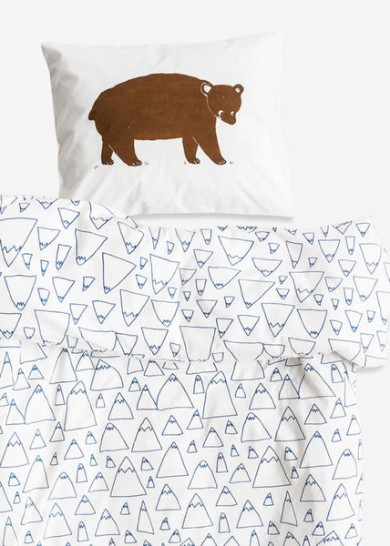 FINE LITTLE DAY BRUNO/MOUNTAINS CRIB BABY BED SET