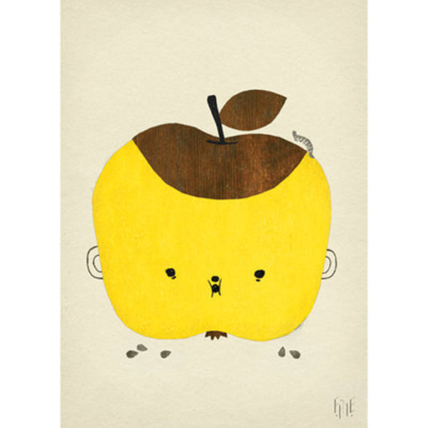 FINE LITTLE DAY APPLE PAPPLE POSTER Billie & Axel, Montreal, Canada