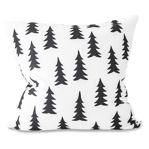 FINE LITTLE DAY GRAN PILLOW CASE 48X48 WHITE BLACK Billie & Axel, Montreal, Canada