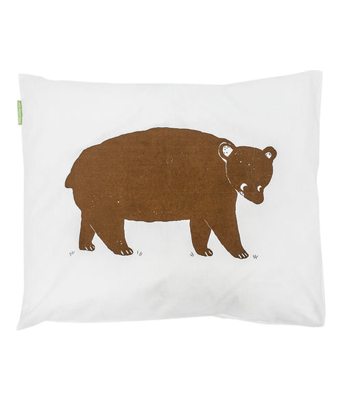 Fine Little Day Bruno Bear White/Brown 50x60