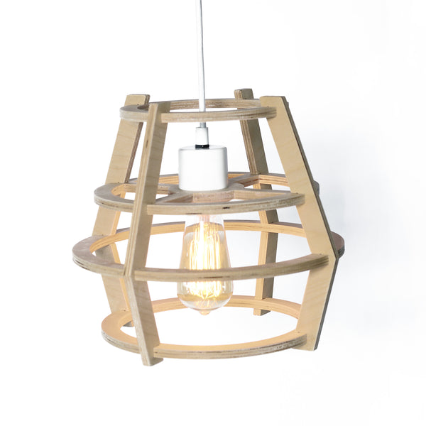 GAUTHIER STUDIO LAMP ROUND NATURAL Billie & Axel, Montreal, Canada