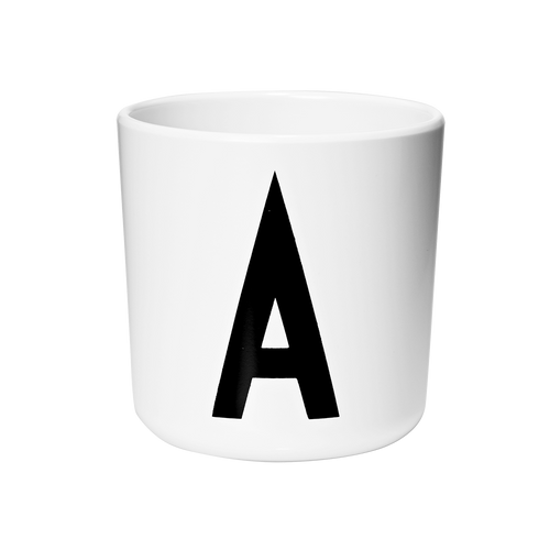 Design Letters Personal Initial Melamine Cup (A-Z)-CUP-DESIGN LETTERS-Billie & Axel, Montreal, Canada & USA