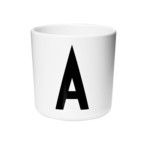 DESIGN LETTERS MELAMINE CUP (A - Z)