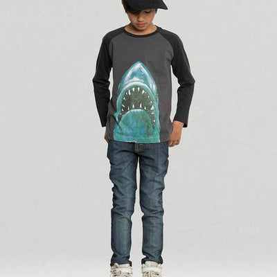 MUNSTERKIDS DENIM SLIM STOVEY BEATEN BLUE-PANT-MUNSTERKIDS-Billie & Axel, Montreal, Canada & USA