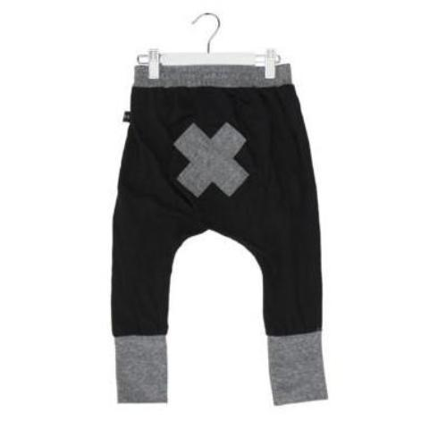Huxbaby bear essentials high cuff pant black at Billie & Axel, Montreal, Canada USA