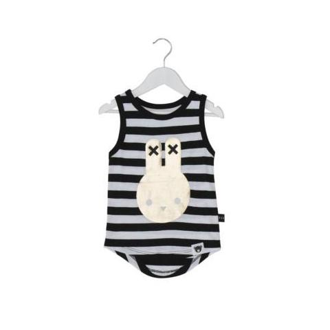 Huxbaby hux bunny singlet stripe at Billie & Axel, Montreal, Canada