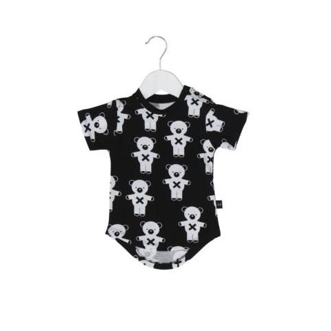 Huxbaby soldier bears drop back t-shirt black at Billie & Axel, Montreal, Canada