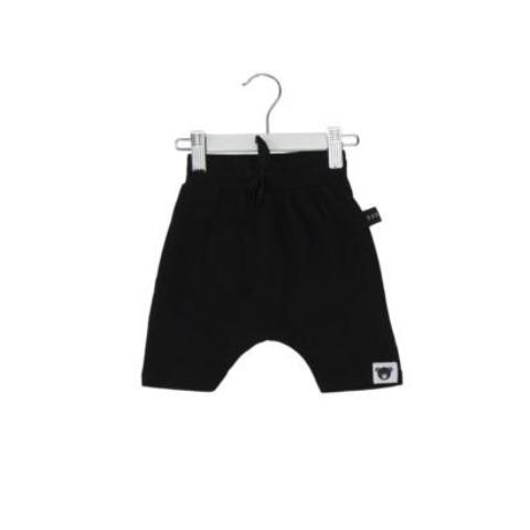 HUXBABY DROP CROTCH SHORT BLACK