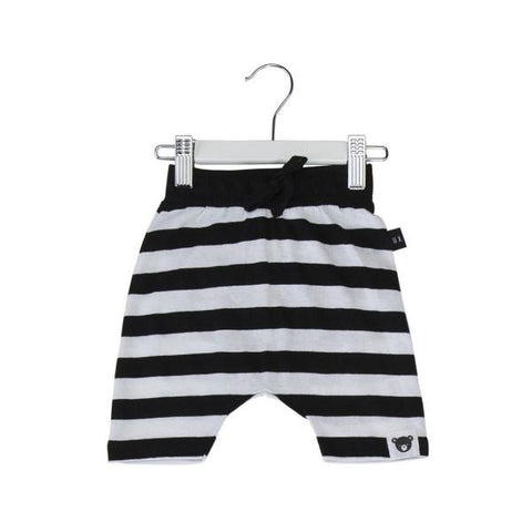 Huxbaby stripe drop crotch shorts stripe at Billie & Axel, Montreal, Canada