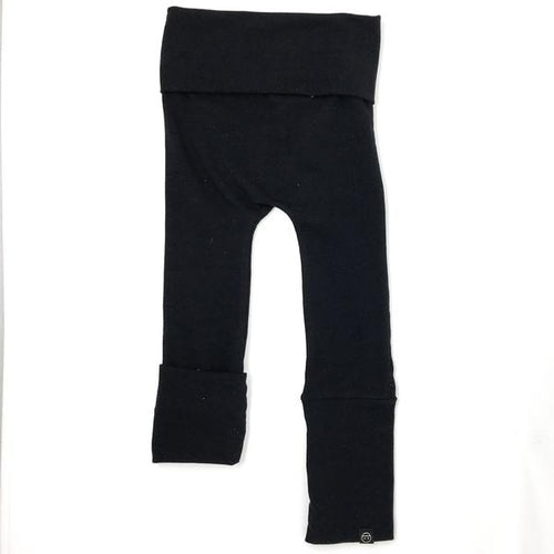 Evolo Grow with Me Maxiloones Pants Bamboo Black-EVOLO PANTS-Miminoo Montreal Canada USA.