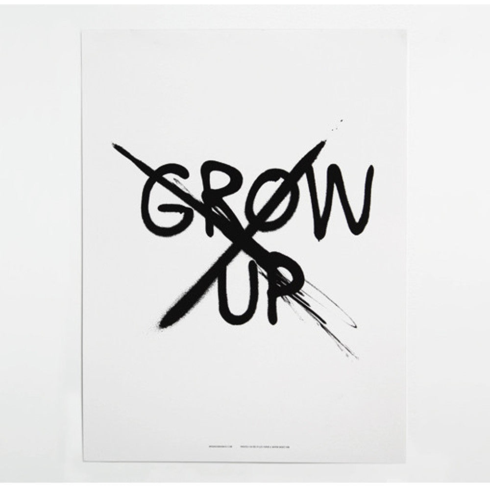 MINI AND MAXIMUS DON'T GROW UP POSTER-POSTER-MINI AND MAXIMUS-Billie & Axel, Montreal, Canada & USA