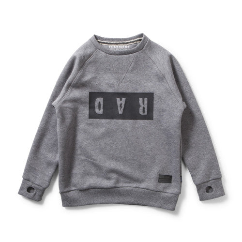 MUNSTERKIDS RAD FLEECE THRILL GREY MARLE Billie & Axel, Montreal, Canada