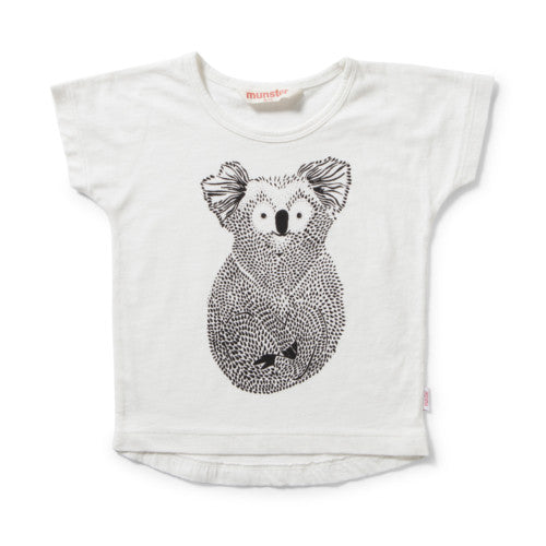 MUNSTERKIDS TEE BEAR CREAM Billie & Axel, Montreal, Canada