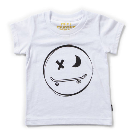MUNSTERKIDS TEE CROSS EYED WHITE Billie & Axel, Montreal, Canada