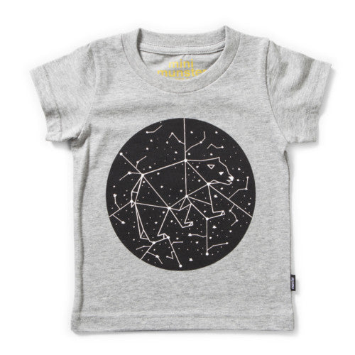MUNSTERKIDS TEE MOON GREY MARLE Billie & Axel, Montreal, Canada