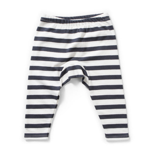 MUNSTERKIDS TRACK PANT LINES BLACK STRIPE Billie & Axel, Montreal, Canada