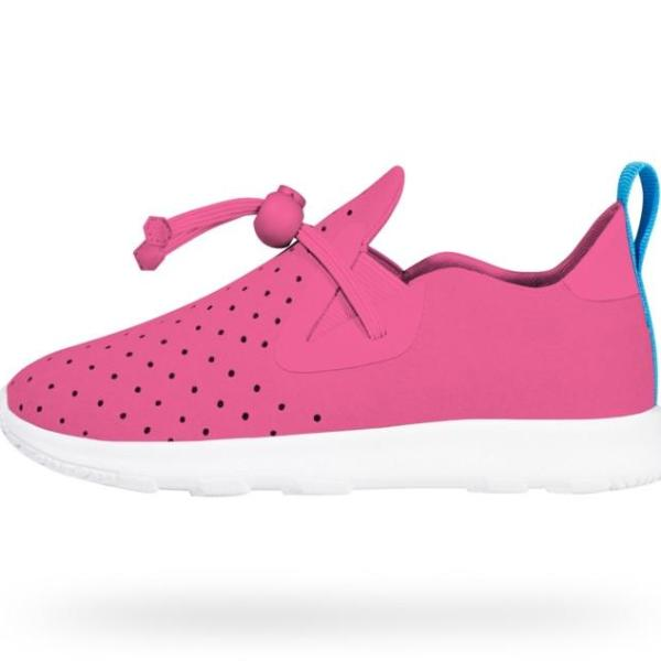 NATIVE Apollo Moc Child Hollywood Pink Shell white