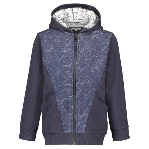 NOPPIES Cardigan Westbury Dark Blue Hoodie Jacket Billie & Axel USA Canada
