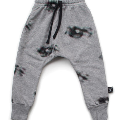 Nununu Eye Baggy Pants Heather Grey Billie & Axel, Montreal, Canada & USA