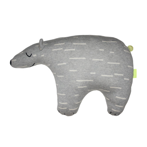 OYOY POLAR BEAR KNUT CUSHION-PILLOW-OYOY-Billie & Axel, Montreal, Canada & USA