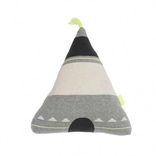 OYOY WIGWAM YELLOW TOP CUSHION