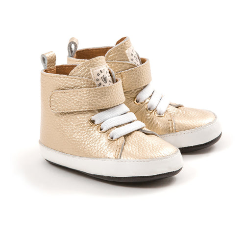 PRETTY BRAVE HI TOP GOLDI BOOTIE