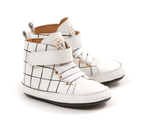 PRETTY BRAVE HI TOP GRID