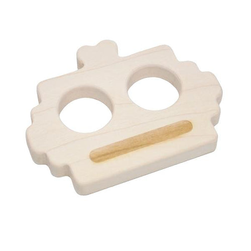 Loullou Teether Teether Robot-WOODEN TOYS-LOULLOU-Billie & Axel, Montreal, Canada & USA