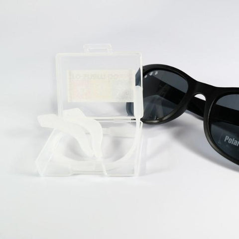 Roshambo Sunglasses Clear Strap Billie & Axel, Montreal, Canada & USA