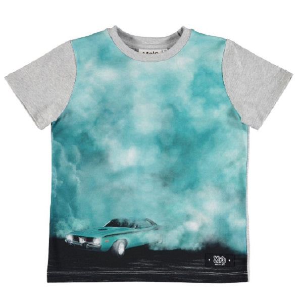 MOLO Raddix T-shirts SS Burnout smoke