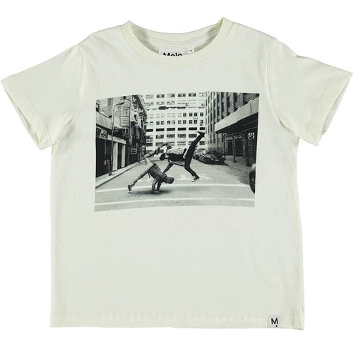 MOLO Raddix T-shirts SS Dirty White-T-shirts-MOLO-Billie & Axel, Montreal, Canada & USA