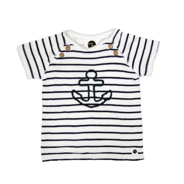 Sproet & Sprout T-shirt Anchor Stripes