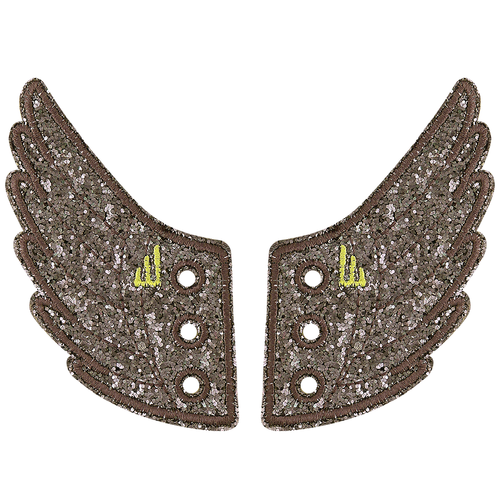 Shwings Wings Shoes Glitter Smoke-ACCESSORIES-SHWINGS-Billie & Axel, Montreal, Canada & USA