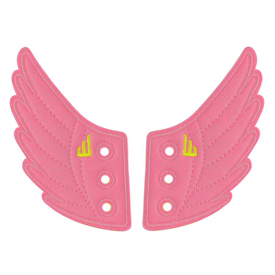 Shwings Wings Shoes Pink-ACCESSORIES-SHWINGS-Billie & Axel, Montreal, Canada & USA